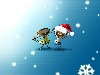 Free Cartoons Wallpaper : Merry Christmas