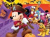 Free Cartoons Wallpaper : Mickey - Halloween