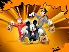 Free Cartoons Wallpaper : Mickey Mouse - Halloween