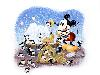 Free Cartoons Wallpaper : Mickey and Pluto - Kitties
