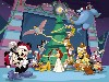 Free Cartoons Wallpaper : Mickey's Magical Christmas