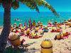 Free Cartoons Wallpaper : Minions - Beach