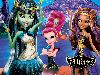Free Cartoons Wallpaper : Monster High - 13 Wishes