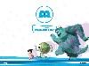 Free Cartoons Wallpaper : Monsters Inc.