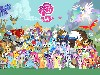 Free Cartoons Wallpaper : My Little Pony - Friendship Is Magic