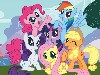 Free Cartoons Wallpaper : My Little Pony