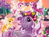 Free Cartoons Wallpaper : My Little Pony - Princess Promenade