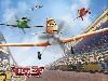 Free Cartoons Wallpaper : Planes
