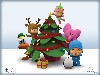 Free Cartoons Wallpaper : Pocoyo - Christmas