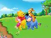 Free Cartoons Wallpaper : Pooh and Friends