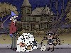 Free Cartoons Wallpaper : Regular Show - Halloween
