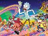 Free Cartoons Wallpaper : Rick and Morty