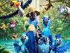 Free Cartoons Wallpaper : Rio 2