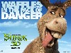 Free Cartoons Wallpaper : Shrek 4 - Donkey