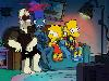 Free Cartoons Wallpaper : Simpsons - Horror Couch Gag