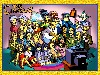 Free Cartoons Wallpaper : The Simpsons - Manga