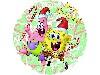 Free Cartoons Wallpaper : Spongebob and Patrick - Merry Christmas