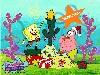 Free Cartoons Wallpaper : Spongebob - Christmas