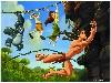 Free Cartoons Wallpaper : Tarzan