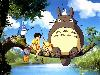 Free Cartoons Wallpaper : My Neighbor Totoro