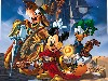 Free Cartoons Wallpaper : Wizards of Mickey