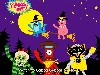 Free Cartoons Wallpaper : Yo Gabba Gabba - Halloween