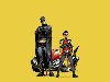 Free Comics Wallpaper : Batman and Robin (by Grant Morrison)
