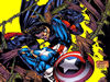 Free Comics Wallpaper : Captain America Against Nefaria