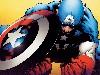 Free Comics Wallpaper : Captain America (by Quesada)