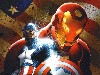 Free Comics Wallpaper : Civil War - Captain American and Iron Man