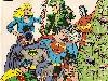 Free Comics Wallpaper : Classic DC Comics - Christmas