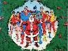 Free Comics Wallpaper : DC Comics - Christmas Card