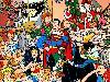 Free Comics Wallpaper : DC Super Heroes - Christmas
