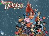 Free Comics Wallpaper : DC Universe - Christmas