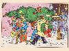 Free Comics Wallpaper : Fantastic Four - Christmas