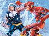Free Comics Wallpaper : Flash vs Captain Cold