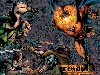 Free Comics Wallpaper : Green Arrow and Etrigan