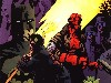 Free Comics Wallpaper : Hellboy, Batman and Starman