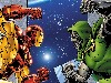 Free Comics Wallpaper : Iron Man vs Doctor Doom
