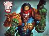Free Comics Wallpaper : Judge Dredd by Simon Bisley