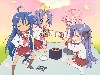Free Comics Wallpaper : Lucky Star