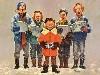 Free Comics Wallpaper : Mad - Christmas