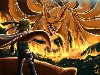 Free Comics Wallpaper : Naruto - Nine Tailed Demon Fox
