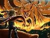 Free Comics Wallpaper : Naruto - Nine Tailed Demon Fox
