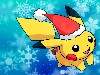 Free Comics Wallpaper : Pikachu - Christmas