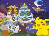 Free Comics Wallpaper : Pokemon - Christmas