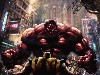 Free Comics Wallpaper : Red Hulk vs Wolverine