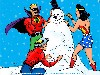 Free Comics Wallpaper : JSA - Christmas