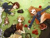 Free Comics Wallpaper : Spice and Wolf