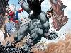 Free Comics Wallpaper : Spider-Man vs Rhino
